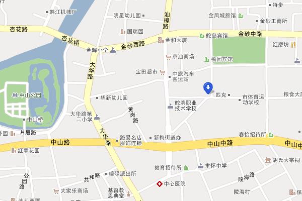 汕头金砂侨社地图